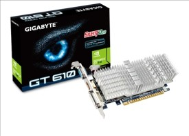 Placa video Gigabyte NVIDIA GeForce 610 PCI-E 1GB N610SL-1GI