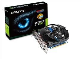 Placa video Gigabyte NVIDIA GeForce GTX 650 GPU N650OC-2GI