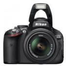 Aparat foto DSLR Nikon D5100 + obiectiv 18-55VR